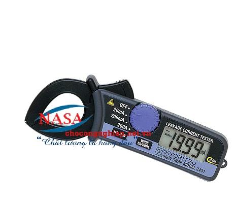 Ampe kìm đo dòng dò 2434