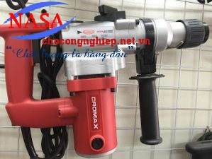Máy khoan búa 2 chức năng Cromax CR 8826