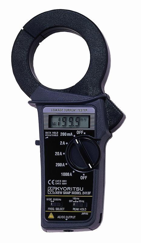 Ampe kìm đo dòng dò 2413F