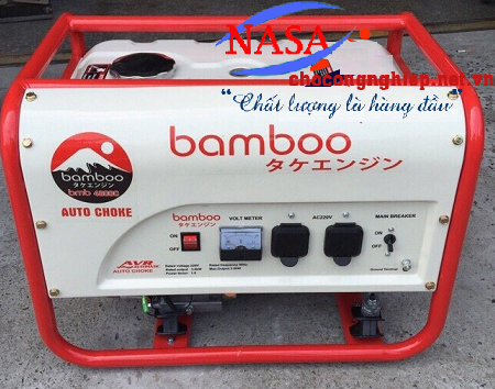 Máy phát điện Bamboo BmB 7800EX