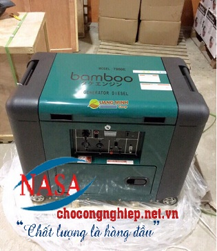 Máy phát điện Bamboo BmB 7800E