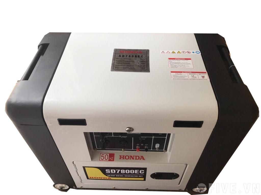 MÁY PHÁT ĐIỆN  HONDA SD 7800 EC