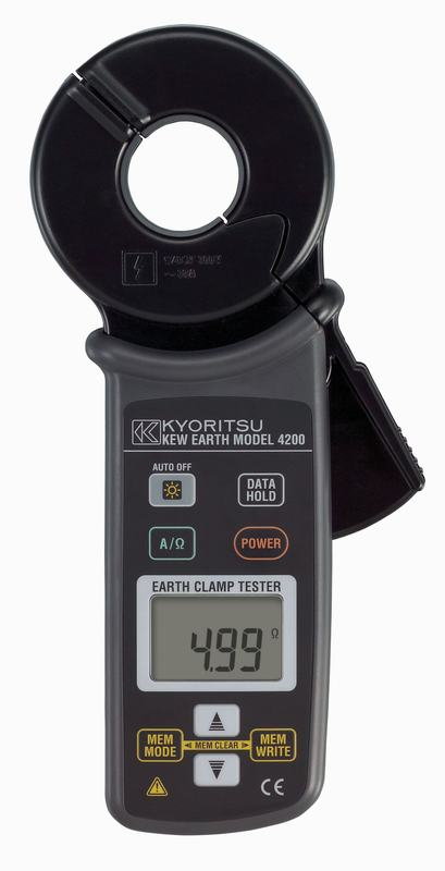 Ampe kìm đo điện trở đất Kyoritsu 4200