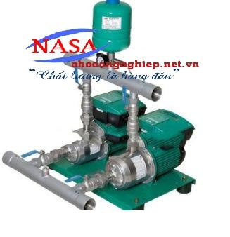 Cụm 2 bơm tăng áp tích hợp biến tần Wilo PBI-LD 803EA